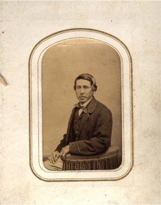 Mohegan Jacob Fowler (image courtesy of the Mohegan Tribe)