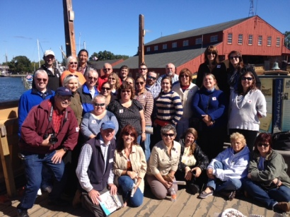 Mohegan Elders and cultural dept - Mystic Seaport CWM