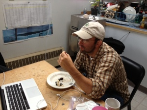 JRM eating bowhead whale
